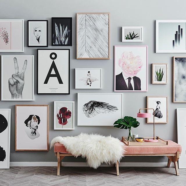 20 idées inspirantes de décorations à réaliser avec des cadres photos